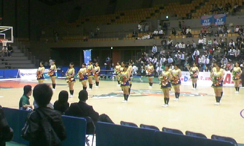 プレシーズンゲーム・埼玉vs高松@所沢市民体育館