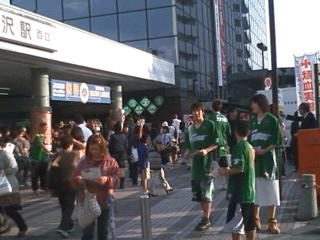 所沢プロペ通りPR大作戦(10月11日)