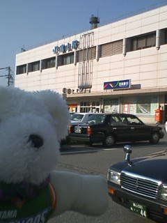GoGoくまちゃん 富山往路編(10月18日午後の部)