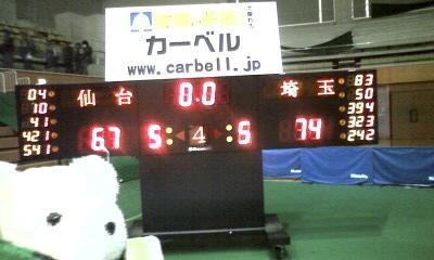 仙台に先勝!埼玉仙台4連戦・春日部ラウンド・1