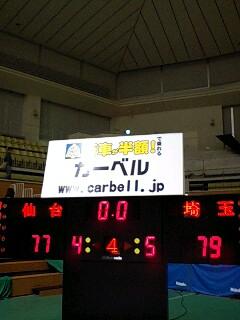 残り7・8秒、奇跡の生還!埼玉仙台4連戦・春日部ラウンド・2