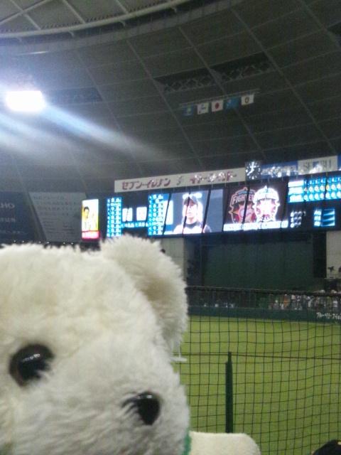 ブースター野球観戦会の報告