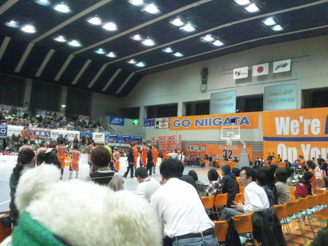 3月17日(土)、3月18日(日)の結果(vs新潟・アウェイ鳥谷野)2012.3