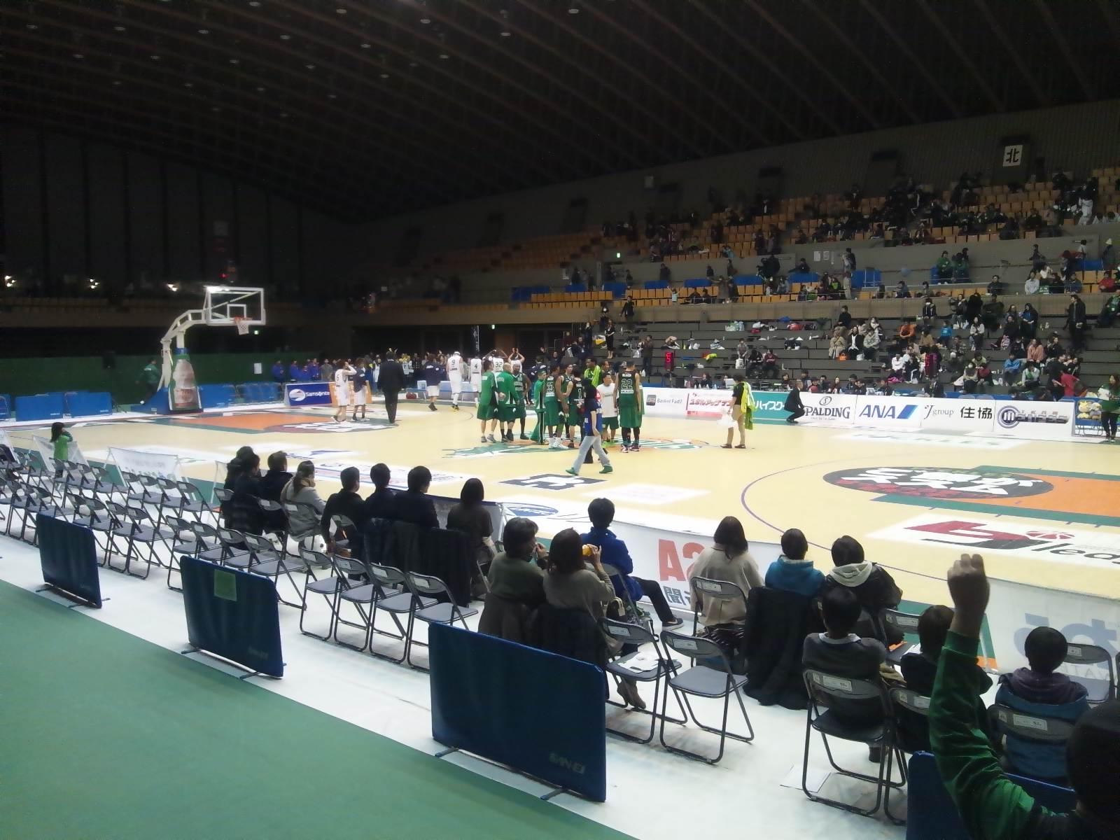 2013年2月9日(土)の結果(vs長野・ホーム所沢)